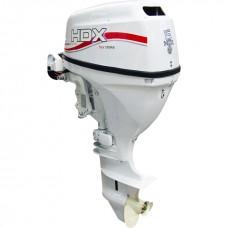 Лодочный мотор 2-х тактный HDX T 15 BMS (белый)