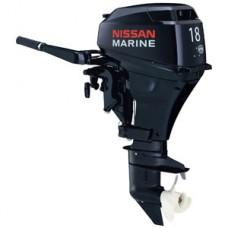 Лодочный мотор 2-х тактный Nissan Marine NS 18 E2 1