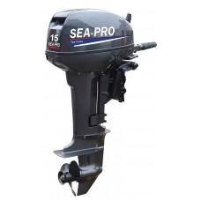 Лодочный мотор 2-х тактный Sea Pro Т 15 S