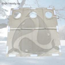 Пол для палатки 2Т (Polar Bird, СНЕГИРЬ) с стандартными отверстиями