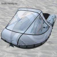 Тент носовой прозрачный для лодки BoatsMan BT 300