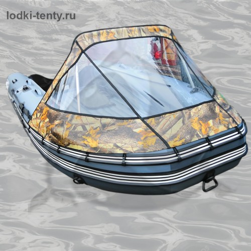 Тент носовой прозрачный для лодки REEF SKAT-ТРИТОН-370 НД