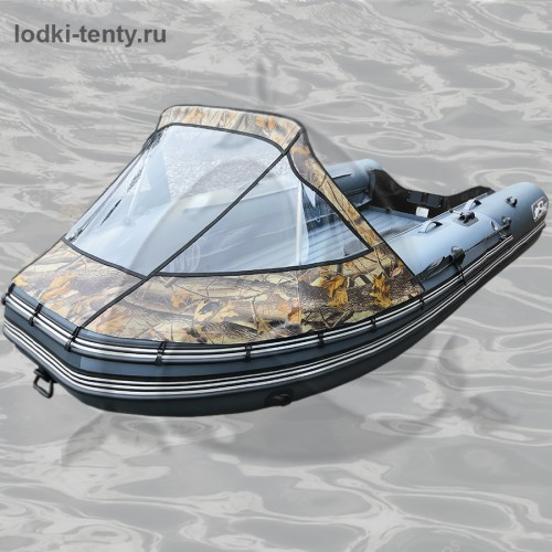 Тент носовой прозрачный для лодки REEF SKAT-ТРИТОН-390 НД