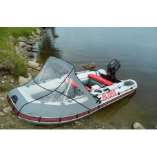 Носовой тент прозрачный для лодки длиной от 450 до 550 см