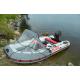 Тент носовой прозрачный для лодки Altair Pro 385