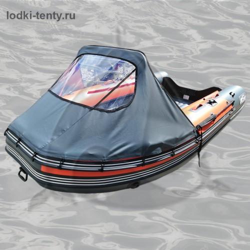 Тент носовой с окном для лодки REEF SKAT-ТРИТОН-390 НД