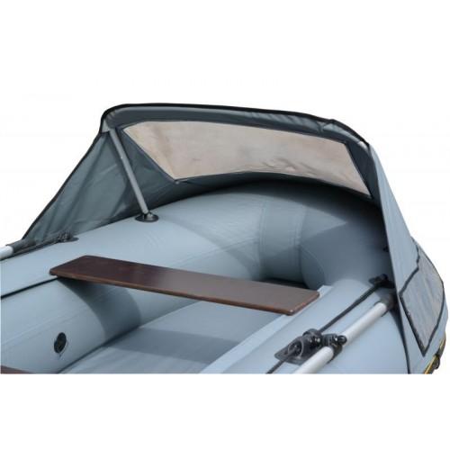 Тент носовой с окном для лодки Адмирал 335 (распродажа)