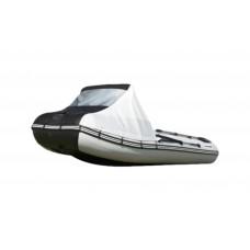 Носовой тент с окном для лодки длиной от 220 до 300 см