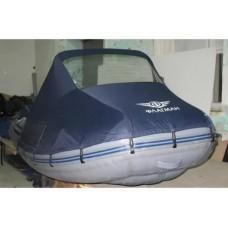 Носовой тент с окном для лодки длиной от 405 до 440 см