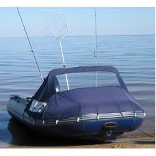 Носовой тент с окном для лодки длиной от 305 до 360 см