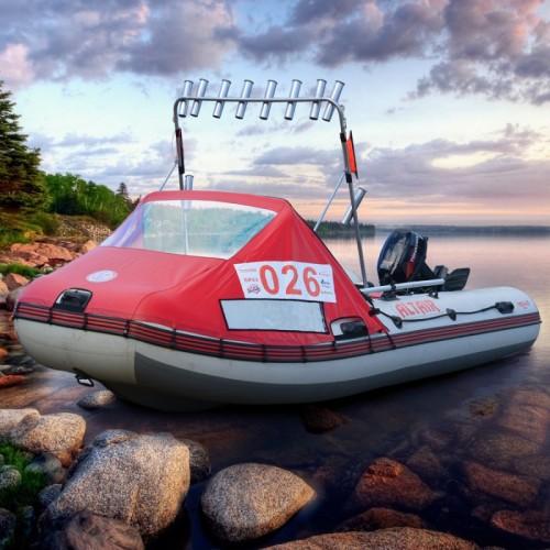 Тент носовой с окном для лодки Altair Pro Ultra 460
