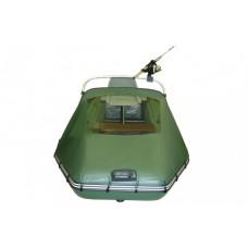 Носовой тент с окном и таргой для лодки длиной от 365 до 400 см