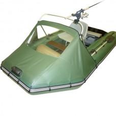 Носовой тент с окном и таргой для лодки длиной от 305 до 360 см